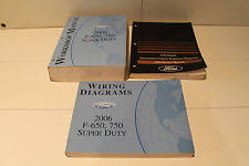 ford f boat parts 2006 ford f 650 f 750 workshop manual wiring diagrams shop manuals