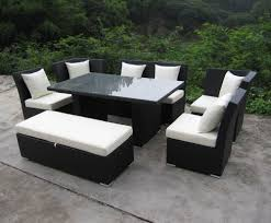 patio furniture sectional ideas: home depot patio furniture sectional dining set  for interior decor home with sectional dining set