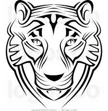 tiger face clipart black and white. Modren Black Tiger20face20clipart20black20and20white In Tiger Face Clipart Black And White R