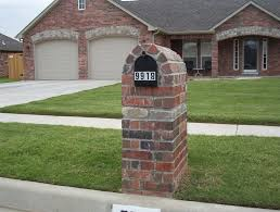 stone mailbox designs. Image Of: How To Build A Stone Mailbox Designs
