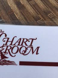 Menu Picture Of Chart Room Bar Harbor Tripadvisor