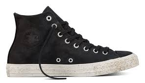 black sneakers converse chuck taylor all star leather 72 157524c shooos
