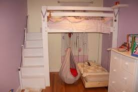 bunk beds with slide and swing. Interesting Slide DIY Loft Bed Into Bunk With A Hanging Ikea Ekorre Swing Kids Love  Their New Space And Bunk Beds With Slide Swing 2