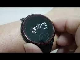 Track My Blood Pressure Preview Cf007 Smartwatch Waterproof Tracker Heart Rate Blood