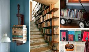 37 fantastic ideas how to decorate your home with books amazing