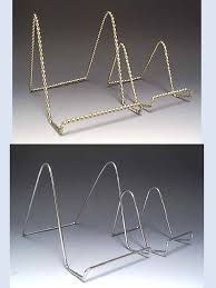 Wire Plate Stands For Display MangoKeramiek Easel Plate holder Tile box Trivet frame 35