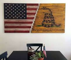 american flag wall art extra large metal reclaimed wood
