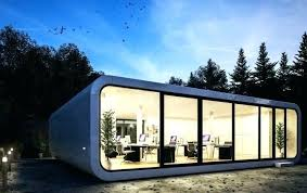 Outdoor Office Pod The By A Prefab Builder In Is Compact Portable Unit That Can Uk  Fascinating Pods