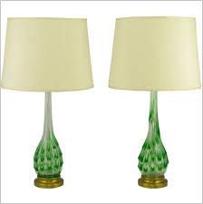 great yellow glass table lamp ravishing blue clear glass table lamp glass lamp blue green glass
