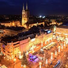 크로아티아 자그레브 여행중, 유럽 크리스마스마켓