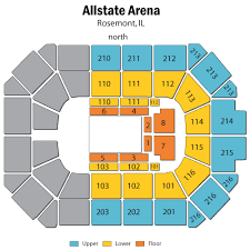 Allstate Arena Rosemont Il Seating Chart Disney On Ice Road Trip Adventures Rosemont Tickets