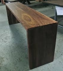 walnut console table. -3 Walnut Console Table S