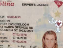 Drivers Carolina sc Id Best Scannable New License- Fake Ids - South Idviking