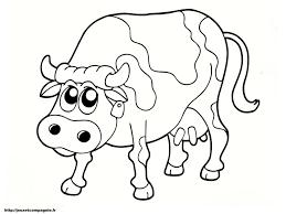 Dessin D Une Vache Et Son Veau Dessin De Vache A Imprimer Coloriage De Vache L