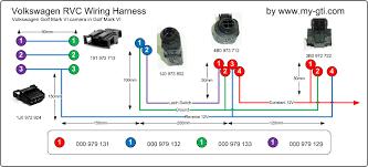 installing a golf mark vi rear view camera rvc into a golf mark vi rvc wiring