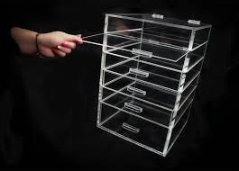 large acrylic makeup organizer with 5 6 or 7 drawers ideas