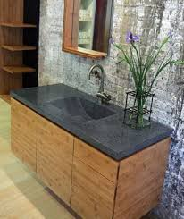 image quarter bamboo bathroom stool wall mounted bamboo bathroom cabinets with stone tops bamboo