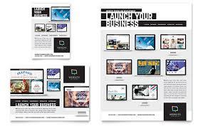 Website Designer Flyer Ad Template Design