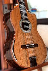 Acoustic Guitar - Belluci Classical Guitar. Ziricote back and sides, Curly  Sinker Redwood top