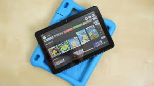 Just tap the screen to click. Amazon S Fire Hd 8 Kids Edition Removes The Stress Of Giving Your Child A Tablet They Can Call Their Own Cnn
