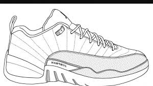 Nike Shoes Coloring Pages Inspirational Formidable Jordan Sneaker