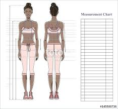 Template For Body Measurements Oneskytravel Co