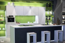 Green Apple Decorations For Kitchen Decorating With Led Strip Lights Kitchens With Energy Efficient