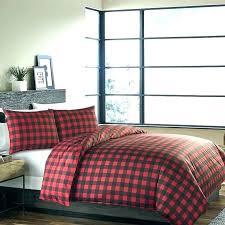 grey buffalo plaid comforter bedding sets