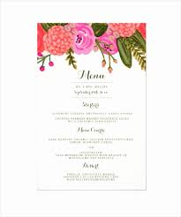 Party Menu Template Dinner Party Menu Template Inspirational Doc Sample Party