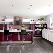modern black kitchen cabinets. Contemporary Kitchen Cabinets And Island Design In Black White Colors, Bright Wall Art To Accentuate Modern T