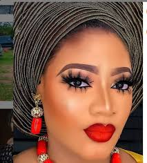 most stunning gele and makeup styles