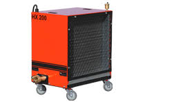 heat king tamarack industries presents the heat king mobile glycol heating system a faster way to prepare foundation sites and cure concrete in cold weather