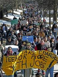 Office Jobs For Teens Teens March To Decry Cuts In Summer Jobs The Boston Globe