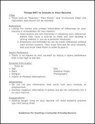 Things To Add To Your Resumes Good Things To Put In A Resume Joefitnessstore Com