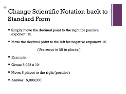 standard form physics intro to physics and measurements