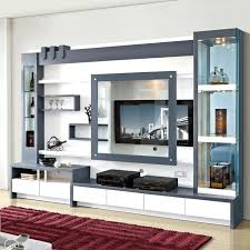 tv wall units for small living room awesome chic cabinet designs with lcd within 6