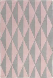 surya hilda sonja gray light pink area rug
