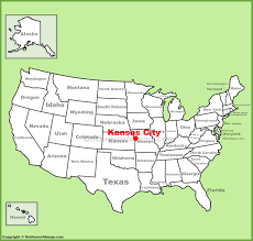 kansas city location on the us map