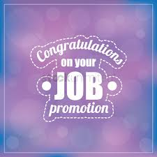 Congrats On Your Promotion Congratulations On Your Job Promotion Vector Image 1828635