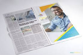 Full Page Newspaper Ad Template 13 Hd Newspaper Psd Mockups For Advertising Zippypixels