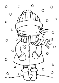 Winter season coloring page   Crafts and Worksheets for Preschool ...