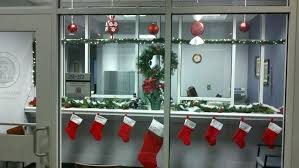 office christmas theme. Office Christmas Decorating Themes Unusual Ideas Design For Doors Funny Theme