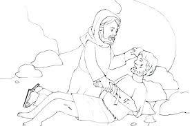 Good Samaritan Coloring Page Good Samaritan Bible Story Coloring