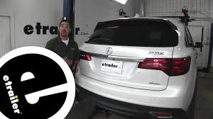 Etrailer Michelin Rear Windshield Wiper Blade Installation 2016 Acura Mdx