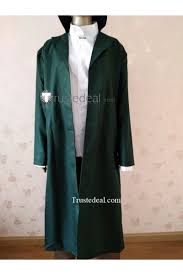 Mushishi Ginko Yoki Dark Green Cosplay Costume