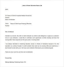 Intent Letter Sample For School Letter Of Intent For Job Letter Of Intent Letter Template