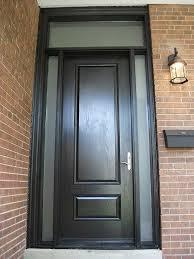 fiberglass executive doors 8 foot single solid fiberglass front