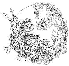 Bellissima Fatina Con Unicorno Disegno Per Bambini Gratis Disegni