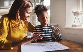 ways to help your kids math homework national  parent helping daughter math