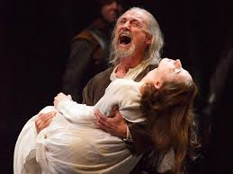 theatre review stratford s king lear is more sinned against than  colm feore s king lear is a fine portrait of a father a less powerful one of a king